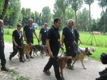 Manifestazione canina, giugno 2010