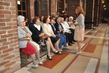 """Il coro degli """"...Issimi"""" durante la Santa Messa"""
